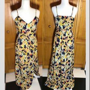 Anthropologie Sabine multicolor maxi dress 🌼